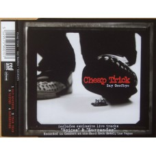 CHEAP TRICK Say Goodbye (Red Ant Entertainment – RAAX1001) UK 1997 EP CD