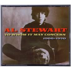 AL STEWART To Whom It May Concern / 1966-1970 (EMI) UK 1993 2CD's