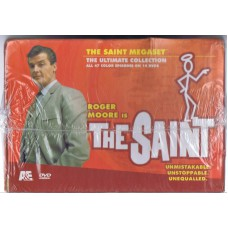 THE SAINT (Roger Moore) all 47 color episodes on14 DVD's in Box-set