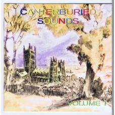 Various CANTERBURIED SOUNDS Vol.1 ( Voiceprint VP201CD | 604388301126) UK 1998 CD