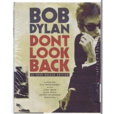 BOB DYLAN Don't Look Back (65 Tour Deluxe Edition) (Columbia / Sony 828768321393) a film by D.A. Pennebaker | 2007 EU 2-DVD video boxset + book