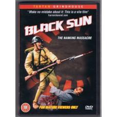 BLACK SUN The Nanking Massacre by: Tun Fei Mou (Tartan Grindhouse 5023965368027) UK 1994 PAL DVD (18+)