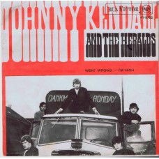 JOHNNY KENDALL AND THE HERALDS Went Wrong (RCA Victor 9752) Holland 1967 PS 45