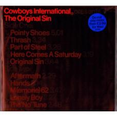 COWBOYS INTERNATIONAL The Original Sin (Virgin V2136) UK 1979 LP