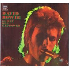 DAVID BOWIE El Rey Del Gay Power (Deram DCS 15044/5) original 1973 Spanish gatefold 2LPs