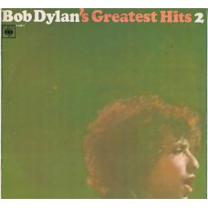 BOB DYLAN Greatest Hits 2 (CBS S 62911) Holland 70's re. of 1967 LP