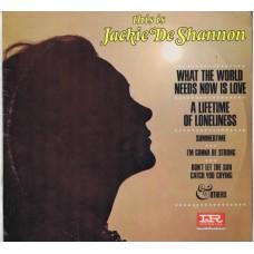 JACKIE DESHANNON This Is Jackie De Shannon (Imperial LP 9286) USA 1965 mono LP