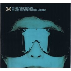 "YOKO ONO with JASON PIERCE OF SPIRITUALIZED / with ANTONY & HAHN ROWE / Walking On Thin Ice / Toyboat (Parlophone ONO3) UK 12"" Picture Disc"