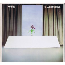 WIRE Chairs Missing (Harvest SHSP 4093) UK 1978 LP