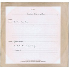 "SANTA ESMERALDA Another Cha Cha (CBS no #) France 1979 unique 2-sided 12"" unique metal acetate"