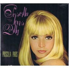 PRISCILLA PARIS Priscilla Loves Billy (Happy Tiger HT 1002) USA 1969 LP (Paris Sisters)