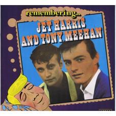 JET HARRIS AND TONY MEEHAN Remembering... (Decca REM 1) UK 1976 LP