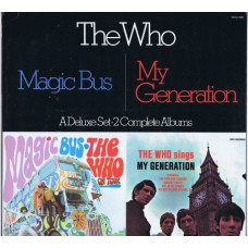 WHO,THE Magic Bus / My Generation (MCA 2-4068) USA 1980 re. of 1973 2LP-Set