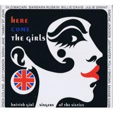 Various HERE COME THE GIRLS (Sequel NEX LP 111) UK 1990 compilation LP