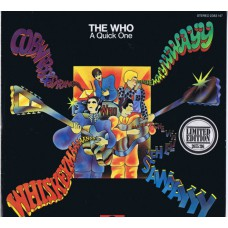 WHO,THE A Quick One (Polydor 2383 147) Germany 1981 issue of 1966 original LP