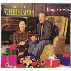BING CROSBY Songs Of Christmas (Decca DL 34461) USA 1960 LP