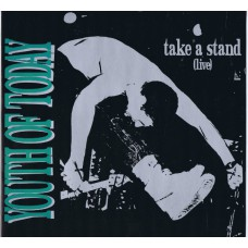 YOUTH OF TODAY Take A Stand (Live) (Lost and Found LF 044) Germany 1992 LP