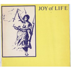 JOY OF LIFE Enjoy (New European Recordings BAD VC 62) France 1985 mini LP testpressing