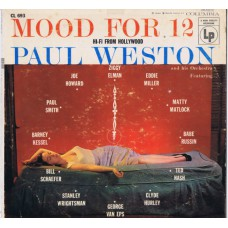 PAUL WESTON AND HIS ORCHESTRA Mood For 12 (Columbia CL 693) USA 1955 LP