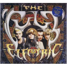 CULT, THE Electric (Beggars Banquet BEGA 80G) UK 1987 LP (Limited Edition, Picture Disc GOLD)