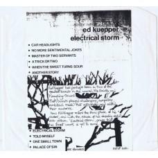 ED KUEPPER Electrical Storm (Hot Records HOT 1020) UK 1986 test-pressing LP (Saints)