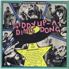 """BEL-AIRS Giddy-A-Ding-Dong (Brunwick SSRT5KL635) UK 1985 10"""" LP"""