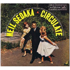 NEIL SEDAKA Circulate (RCA LPM 2317) USA 1961 mono LP