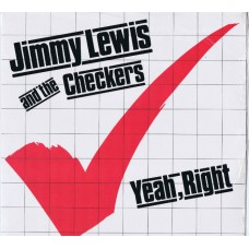 JIMMY LEWIS AND THE CHECKERS Yeah, Right (Line LLP 4.00250) Germany 1980 LP