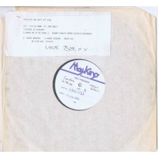 """FIVE GO DOWN TO THE SEA Singing In Braille (Creation CRE 021T) UK 1985 test pressing 12"""" EP"""