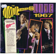 MONKEES Live 1967 (Rhino 081227013912) USA 1987 release of 1967 recording LP