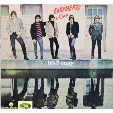 EASYBEATS It's 2 Easy (Parlophone APLP 058) Australia 1984 re. of 1966 LP