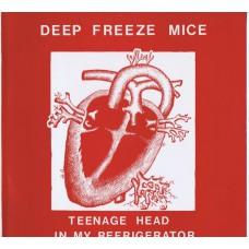 DEEP FREEZE MICE Teenage Head In My Refrigerator (Cordelia MOLE 2) UK 1985 re. LP