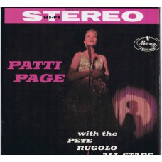 PATTI PAGE With Pete Rugolo And His Orchestra / In The Land Of Hi-Fi (Mercury SR 80000) 1959 stereo LP