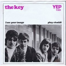 KEY, THE I See Your Image / Play Vivaldi (YEP Y 1010) Holland 1966 PS 45 (Nederbeat)