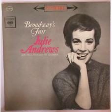 JULIE ANDREWS With Henri René And His Orchestra – Broadway's Fair Julie (Columbia CS 8512) USA 1962 LP