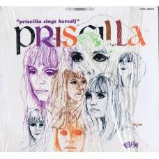 PRISCILLA Priscilla Sings Herself (York 4005-S) USA 1967 LP (Paris Sisters)