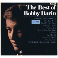 BOBBY DARIN The Best Of Bobby Darin (Capitol T 2571) UK 1966 Test-Pressing 2x one-sided LPs