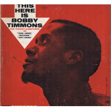 BOBBY TIMMONS This Here Is Bobby Timmons (Riverside RLP 12-317) USA 1960 mono LP