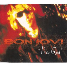 BON JOVI Hey God (Mercury 578 210-2) EU 1996 Promo-only CD single