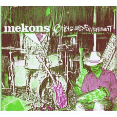 """MEKONS Crime And Punishment (SIN 002) UK 1985 White Label Test Pressing 12"""" EP"""