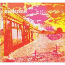 MEKONS The Edge Of The World (Sin 003) UK 1986 White label test pressing LP + xtras