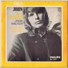 JOHN WALKER & SCOTT WALKER: Sunny / Come Rain Or Come Shine / The Gentle Rain / Mrs. Murphy (Philips BE 12597) UK 1966 PS EP (Walker Brothers)
