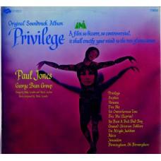 PRIVILEGE Soundtrack feat. Paul Jones (UNI 73005) USA original 1967 LP