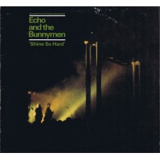 "ECHO AND THE BUNNYMEN 'Shine So Hard' (Korova ECHO1) UK 1981 12"" EP"