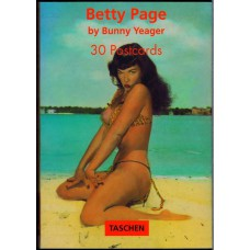 BETTY PAGE 30 Postcards by Bunny Yeager (Taschen ISBN 3-8228-8506-1) Germany 1996 postcards