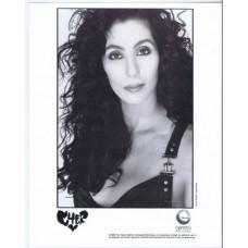 CHER 1989 presskit + bio (Geffen Records presentation)