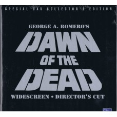 DAWN OF THE DEAD Special CAV Collector's Edition Widescreen Director's Cut 1996 laserdisc boxset