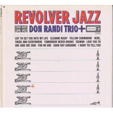 DON RANDI TRIO Revolver Jazz (reprise 6229) USA 1966 mono LP (Wrecking Crew)