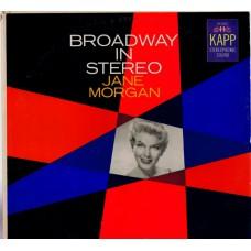 JANE MORGAN Broadway In Stereo (Kapp KS 3001) USA 1959 original LP