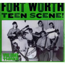 Various FORT WORTH TEEN SCENE (1964-67) Vol.3 (Norton ED 306) USA 2004 LP